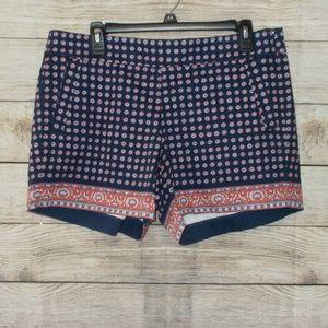 J. Crew Factory Printed Shorts